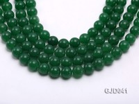 Wholesale 12mm Round Green Malay Jade Beads Loose String