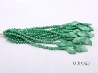 Wholesale 6mm Round Korean Jade String
