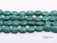 Wholesale 16x20mm Oval Blue Turquoise Beads Loose String