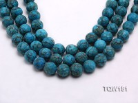Wholesale 15.5mm Round Blue Turquoise Beads Loose String