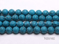 Wholesale 16mm Round Blue Turquoise Beads Loose String
