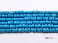 Wholesale 8x12mm Pillar-shaped Blue Turquoise Beads Loose String
