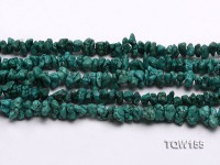 Wholesale 8x6mm Irregular Green Turquoise Pieces Loose String