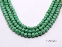 Wholesale 9x10mm Irregular Green Turquoise Beads Loose String