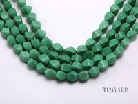 Wholesale 10x16mm Irregular Green Turquoise Beads Loose String
