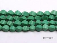 Wholesale 10x16mm Irregular Green Turquoise Beads Loose String