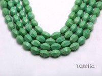 Wholesale 13x18mm Irregular Green Turquoise Beads Loose String