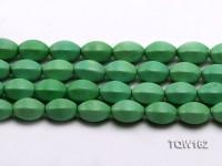 Wholesale 13x18mm Irregular Green Turquoise Beads Loose String