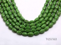 Wholesale 10x15mm Irregular Green Turquoise Beads Loose String