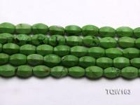 Wholesale 10x15mm Irregular Green Turquoise Beads Loose String