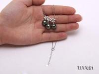 10-10.5mm Black Tahitian Pearl Pendant