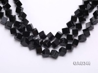 Wholesale 10mm Black Cubic Agate String