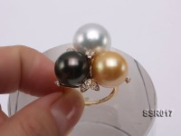 14.5mm South Sea Pearl Ring in 14K Gold
