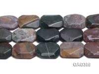 Wholesale 25x35mm Faceted Agate Pieces String