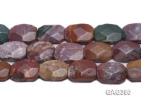 Wholesale 20x25mm Faceted Agate Pieces String