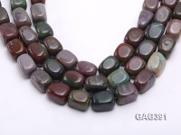 Wholesale Multi-color 15x15x20mm Agate Beads String