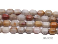 Wholesale 13x18mm Multi-color Faceted Agate Beads String