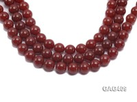 Wholesale 14mm Red Round Agate Beads String