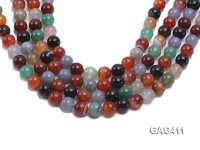 Wholesale 12mm Round Agate Beads String