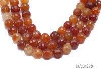 Wholesale 19mm Round Faceted Agate Beads String
