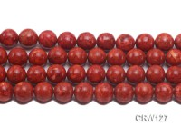 Wholesale 14mm Round Red Sponge Coral Beads Loose String
