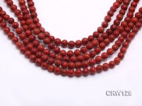Wholesale 7mm Round Red Sponge Coral Beads Loose String