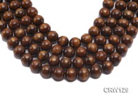 Wholesale 15mm Round Golden Coral Beads Loose String