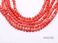 Wholesale 6x8mm Irregular Orange Coral Beads Loose String