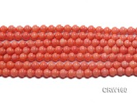Wholesale 7mm Lantern-shaped Pink Coral Beads Loose String