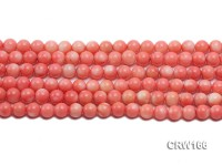 Wholesale 8mm Round Pink Coral Beads Loose String
