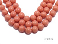 Wholesale 20mm Pink Round Seashell Pearl String