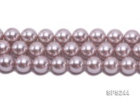 Wholesale 18mm Lavender Round Seashell Pearl String