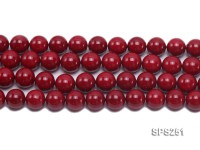 Wholesale 16mm Round Red Seashell Pearl String