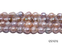 11.5-16mm Lavender Baroque Pearl String