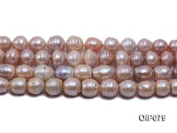 13-15.5mm Pink Baroque Pearl String