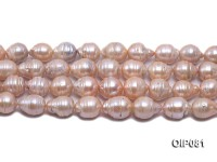 12-15.5mm Pink Baroque Pearl String