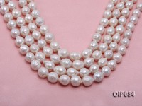 13-15.5mm White Baroque Pearl String