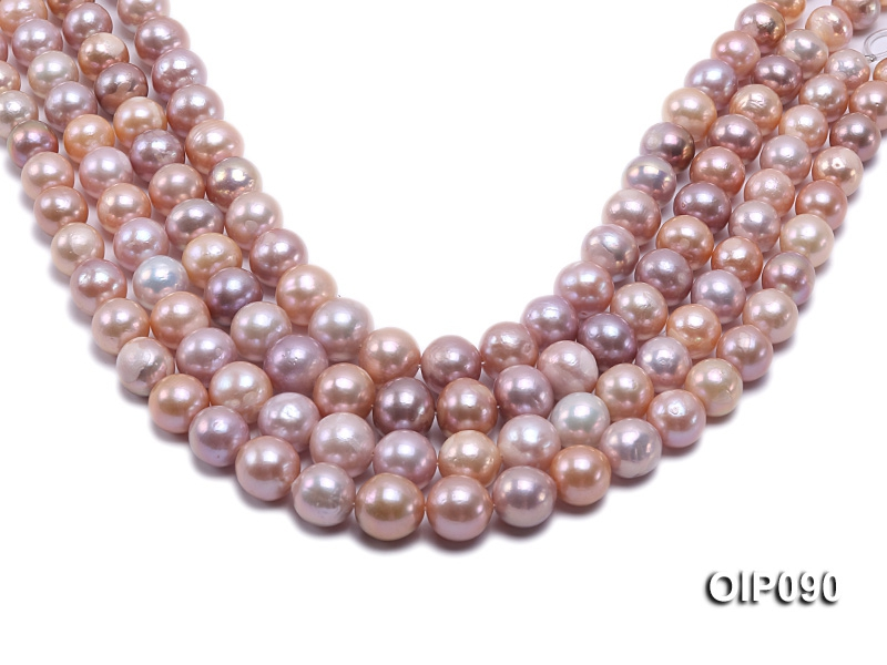 11.5-15mm Pink & Lavender Edison Pearl String