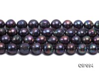 14.5-17mm Black Irregular Pearl String