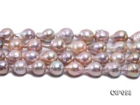 13.5-15mm Lavender Baroque Pearl String