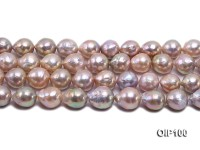 13-15.5mm Lavender Baroque Pearl String