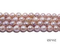 12.5-15.5 Lavender Irregular Pearl String