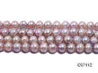 Wholesale & Retail 12-14mm Lavender Irregular Pearl String