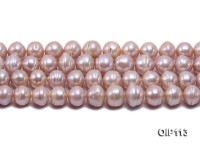 12-14mm Lavender Freshwater Pearl String