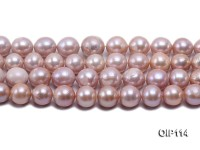 12-14.5mm Lavender Freshwater Pearl String