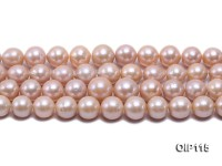 12-14.5mm Pink Freshwater Pearl String