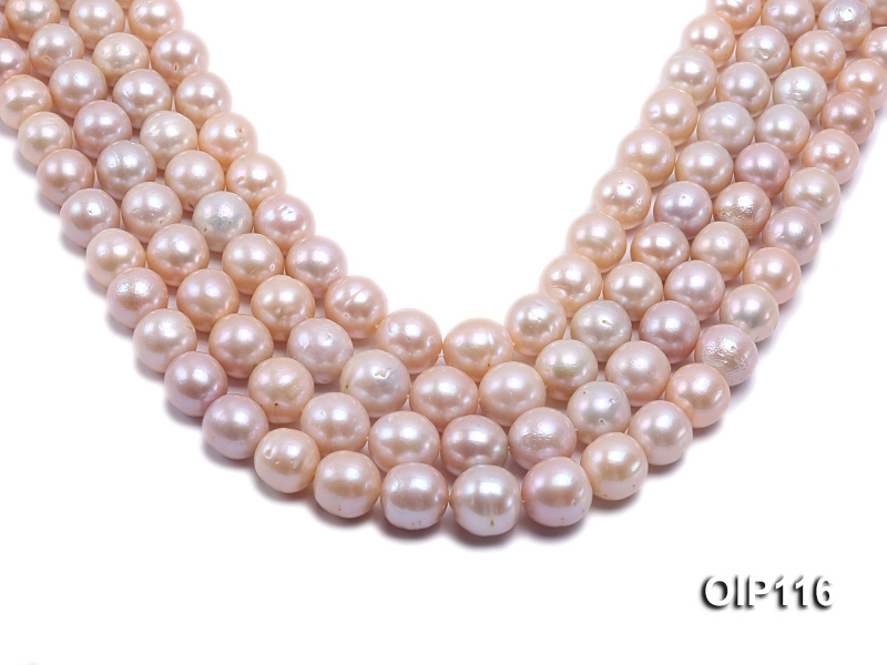 12-15mm Pink Freshwater Pearl String