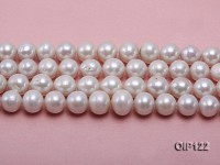 12-15mm White Edison Pearl String