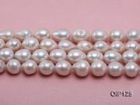 Wholesale & Retail 12-15.5mm White rregular Pearl String