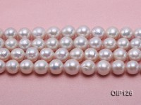 Wholesale & Retail 11-14.5mm White rregular Pearl String